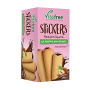 VITAFREE Stickers Μπισκότα με Γέμιση Πραλίνα Φουντουκιού 220gr