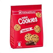 ΠΑΠΑΔΟΠΟΥΛΟΥ Μίνι Cookies Μπισκότα με Κομμάτια Μαύρης Σοκολάτας & Σοκολάτας Γάλακτος 70gr