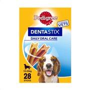 PEDIGREE Dentastix Σνακ Σκύλου για Σκύλους Μεσαίου Μεγέθους 4χ180gr
