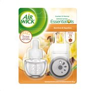AIRWICK Essential Oils Αρωματικό Χώρου Ηλεκτρικό Βανίλια & Ορχιδέα Σετ 19ml