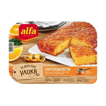 Πορτοκαλόπιτα ALFA Τα Δικά Μας Γλυκά 1050gr
