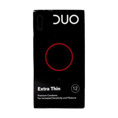 DUO Προφυλακτικά Extra Thin 12τεμ