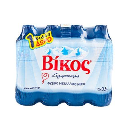 ΒΙΚΟΣ Νερό Φυσικό Μεταλλικό 11x500ml +1 Δώρο