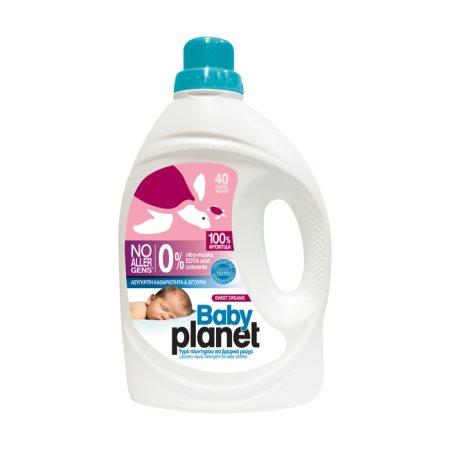 PLANET Baby Απορρυπαντικό Πλυντηρίου Ρούχων Υγρό Sweet Dream 40 πλύσεις