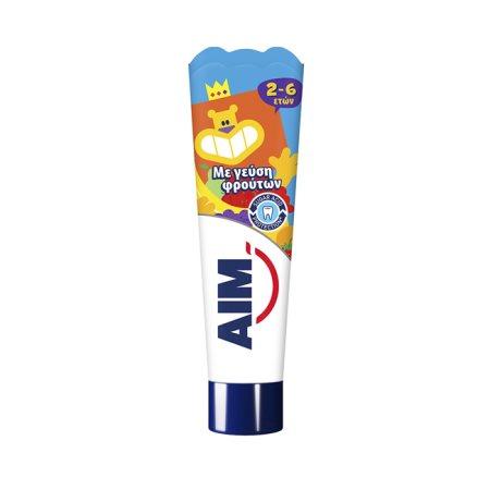 AIM Οδοντόκρεμα Παιδική 2-6 ετών 50ml