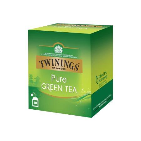 TWININGS Πράσινο Τσάι Pure Green 10 φακελάκια x2gr