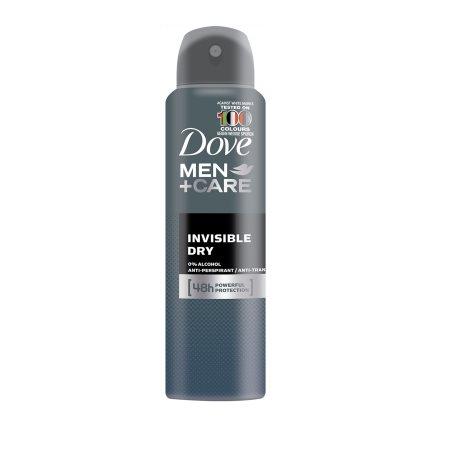 DOVE Men Αποσμητικό Σπρέι Invisible Dry 150ml