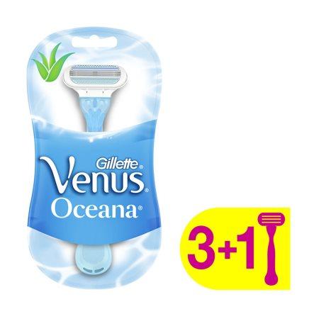GILLETTE Ξυραφάκια Μιας Χρήσης Venus 3τεμ +1 Δώρο