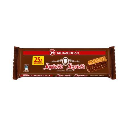 ΠΑΠΑΔΟΠΟΥΛΟΥ Μιράντα Μπισκότα με Σοκολάτα 140gr