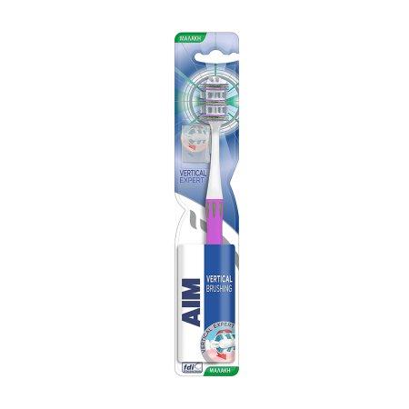 AIM Οδοντόβουρτσα Vertical Expert μαλακή