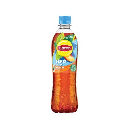 LIPTON Ice Tea Ροδάκινο Χωρίς ζάχαρη 500ml