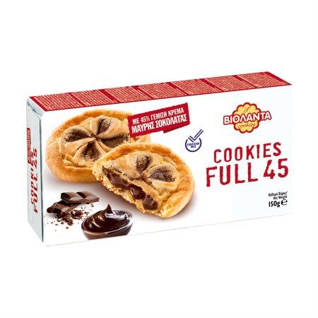 ΒΙΟΛΑΝΤΑ Cookies Full 45 Μπισκότα με Γέμιση Κακάο 150gr