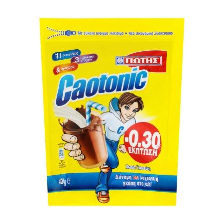 ΓΙΩΤΗΣ Caotonic Ρόφημα Κακάο Χωρίς γλουτένη σε σακούλα 400gr