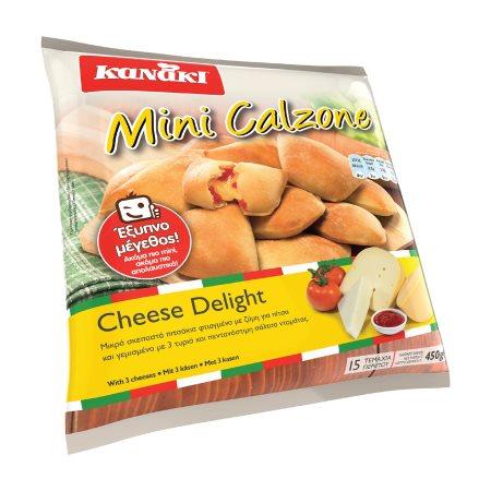 Καλτσόνε KANAKI Μίνι με Τυρί Delight 450gr