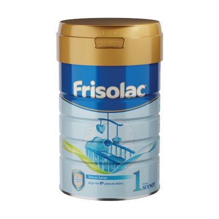 FRISOLAC 1 Γάλα 1ης Βρεφικής Ηλικίας 0-6 Μηνών σε σκόνη 400gr