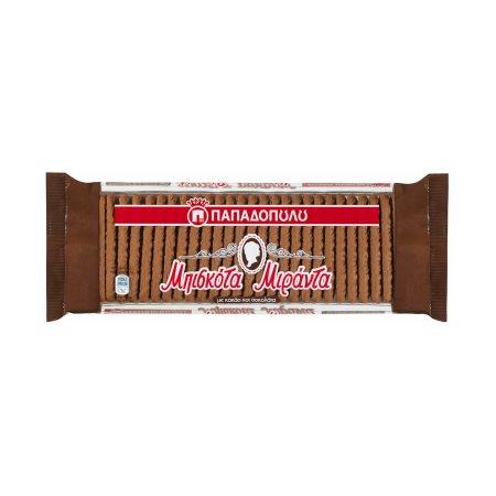 ΠΑΠΑΔΟΠΟΥΛΟΥ Μιράντα Μπισκότα με Κακάο & Σοκολάτα 130gr