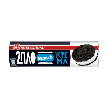 ΠΑΠΑΔΟΠΟΥΛΟΥ 2πλο Γεμιστά Μπισκότα με Κρέμα 230gr