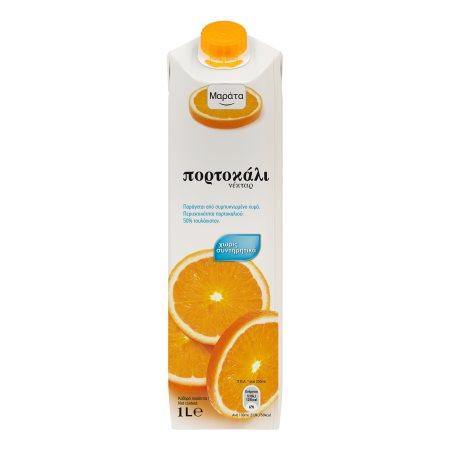 ΜΑΡΑΤΑ Χυμός Νέκταρ Πορτοκάλι 1lt