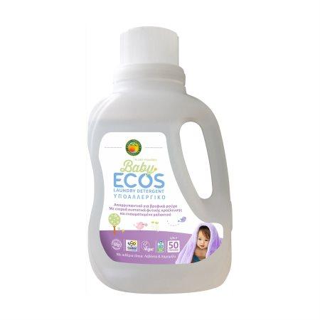 ECOS Baby Απορρυπαντικό Πλυντηρίου Ρούχων Υγρό Λεβάντα Vegan 50 πλύσεις