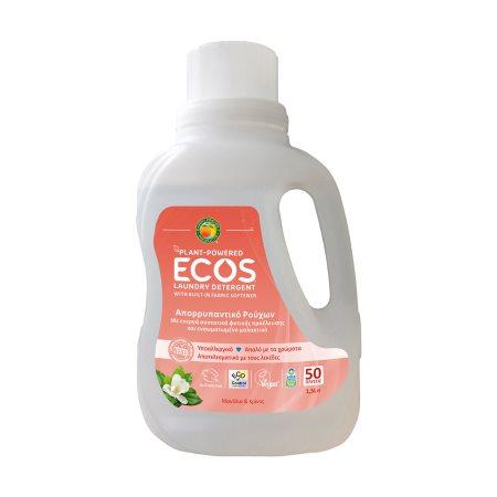 ECOS Απορρυπαντικό Πλυντηρίου Ρούχων Υγρό Μανόλια & Κρίνος Vegan 50 πλύσεις