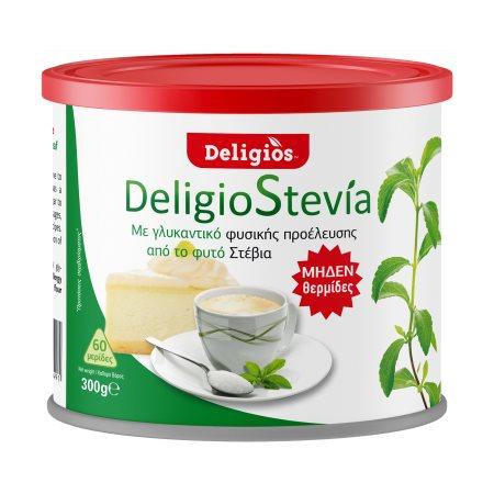 DELIGIOS Γλυκαντικό Στέβια 300gr