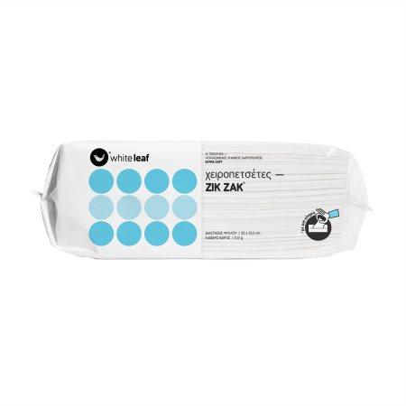 WHITE LEAF Zik Zak Χειροπετσέτες 200 φύλλα 285gr