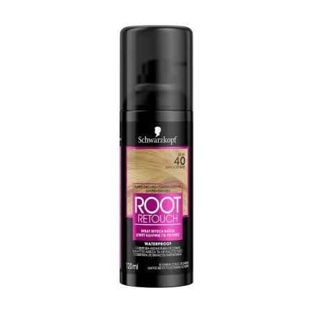 SCHWARZKOPF Root Retoucher Βαφή Μαλλιών Σπρέι Σκούρο Ξανθό 120ml