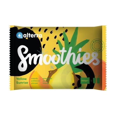Ανάμικτα Φρούτα ALTERRA Smoothies Yellow Sunrise 300gr
