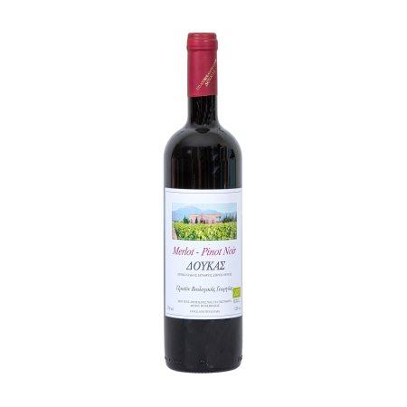ΔΟΥΚΑΣ Ερυθρός Οίνος Merlot & Pinot Noir Βιολογικός 750ml