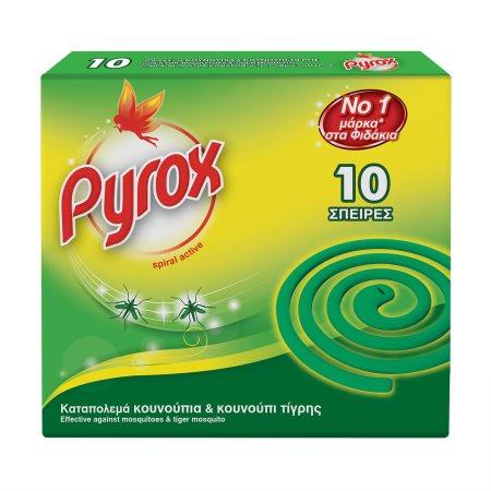 PYROX Εντομοαπωθητικές Σπείρες 10τεμ