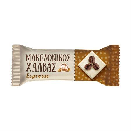 Χαλβάς ΜΑΚΕΔΟΝΙΚΟΣ Espresso Χωρίς γλουτένη Χωρίς λακτόζη 40gr