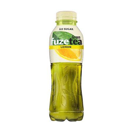 FUZETEA Ice Tea Πράσινο Tσάι Λεμόνι Χωρίς ζάχαρη 500ml