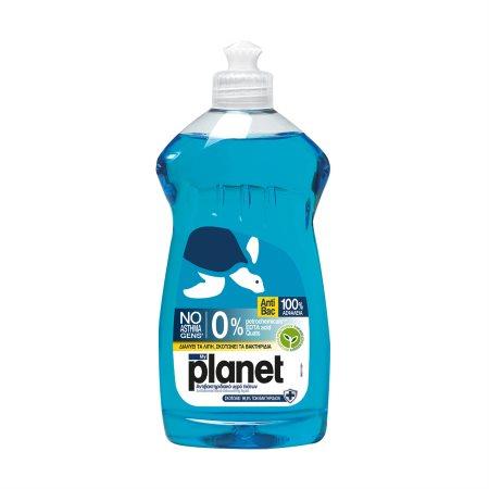 PLANET Απορρυπαντικό Πιάτων Υγρό Αντιβακτηριδιακό 425ml