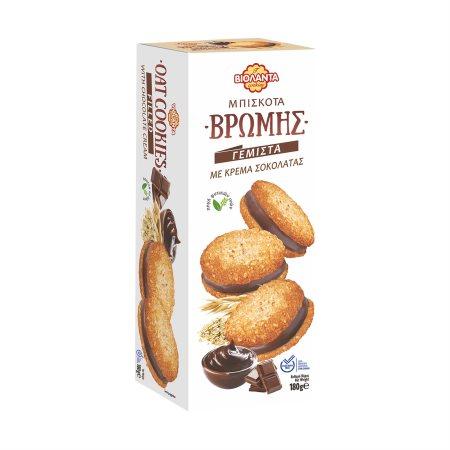 ΒΙΟΛΑΝΤΑ Μπισκότα Βρώμης Γεμιστά με Σοκολάτα 180gr