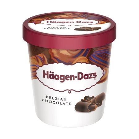 HAAGEN-DAZS Παγωτό Belgian Chocolate 400gr (460ml)