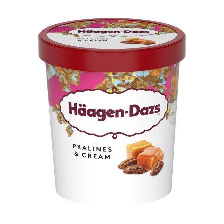 HAAGEN-DAZS Παγωτό Pralines & Cream 400gr (460ml)