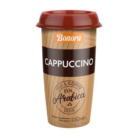 BONORA Ρόφημα Καφέ Cappuccino 250ml