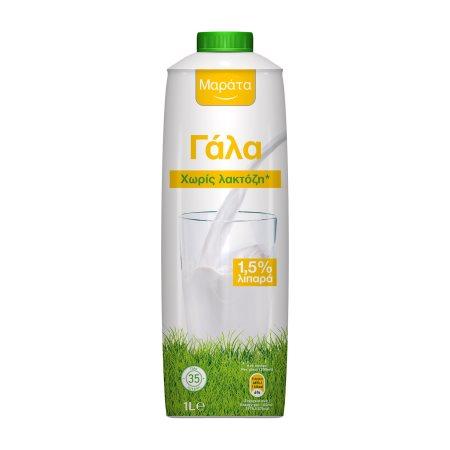 ΜΑΡΑΤΑ Γάλα Χωρίς λακτόζη 1,5% 1lt