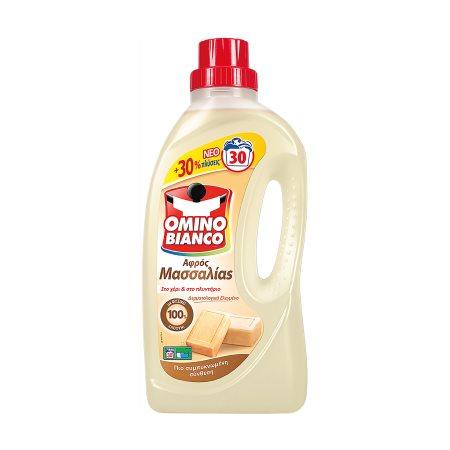 OMINO BIANCO Αφρός Μασσαλίας Απορρυπαντικό Πλυντηρίου Ρούχων Υγρό 30 πλύσεις