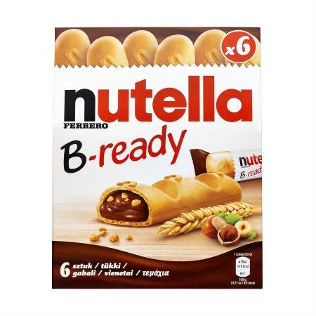 NUTELLA B-Ready Γκοφρέτα 6x22gr