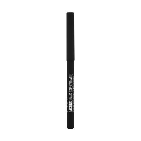 MAYBELLINE Μολύβι Ματιών Lasting Drama Carbon Matte No800 Black 1.3gr