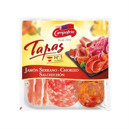 CAMPOFRIO Tapas Ποικιλία Ισπανικών Αλλαντικών σε φέτες 120gr