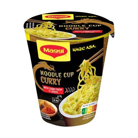 MAGGI Noodles Cup με Γεύση Κάρυ 63gr