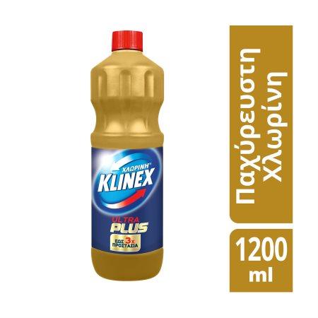 KLINEX Ultra Plus Χλωρίνη Gold 1200ml