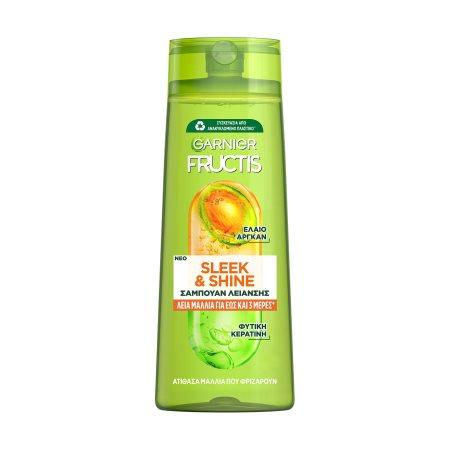 FRUCTIS Σαμπουάν Μαλλιών Sleek & Shine Ατίθασα 400ml