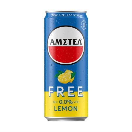 ΑΜΣΤΕΛ Free Μπίρα Χωρίς Αλκοόλ με Λεμόνι 330ml