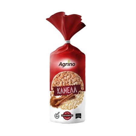 AGRINO Ρυζογκοφρέτες Κανέλα Χωρίς γλουτένη 110gr