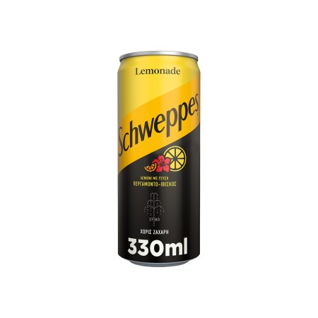 SCHWEPPES Αναψυκτικό Λεμόνι Περγαμόντο & Ιβίσκος Χωρίς ζάχαρη 330ml