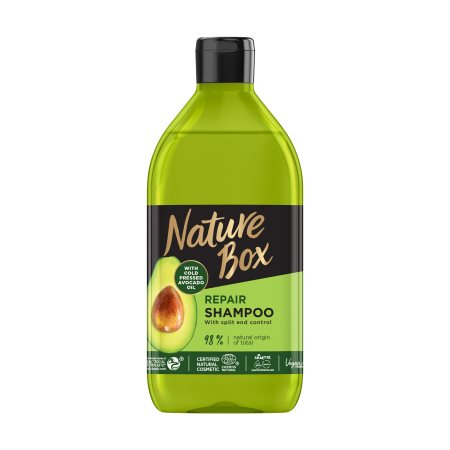 NATURE BOX Σαμπουάν Μαλλιών Avocado Vegan 385ml