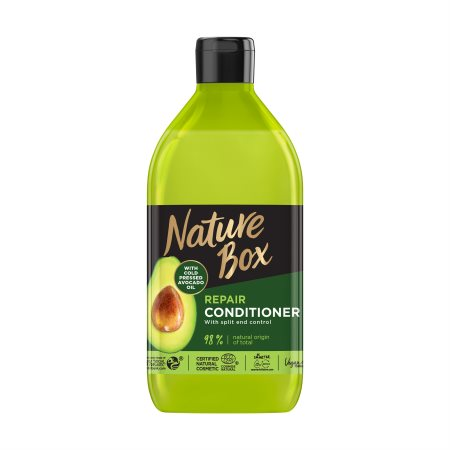 NATURE BOX Κρέμα Μαλλιών Avocado Vegan 385ml